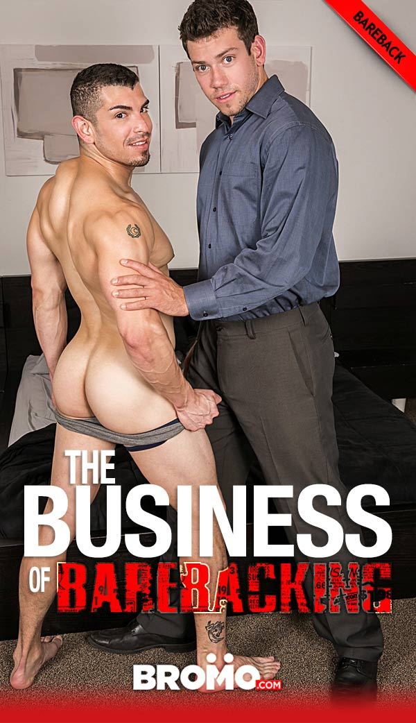 The Business of Barebacking (Reed Jameson Fucks Jeremy Spreadums) (Part 3) (Bareback) at Bromo