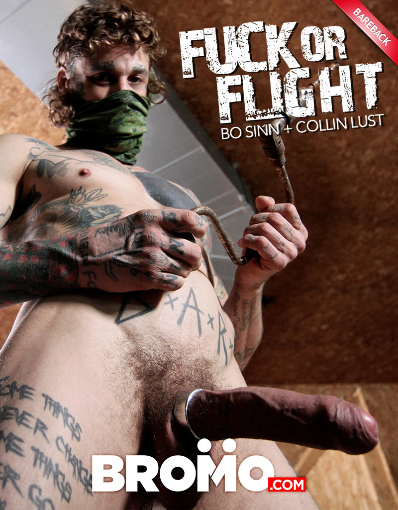 Fuck Or Flight, Part Two (Bo Sinn Fucks Collin Lust) at BROMO