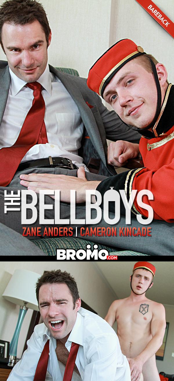 The Bell Boys (Zane Anders Fucks Cameron Kincade) (Bareback) at Bromo
