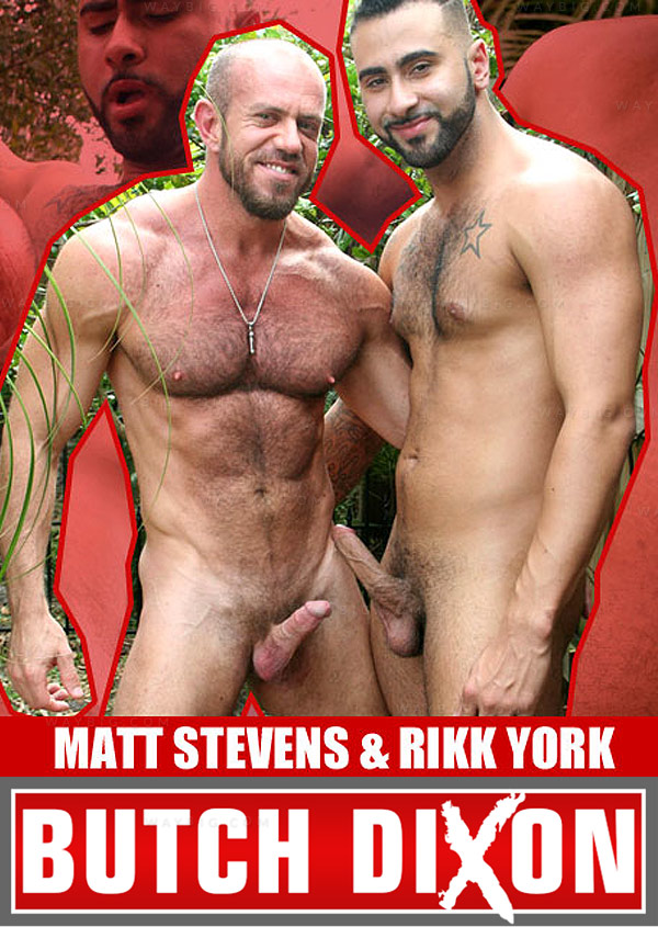 Matt Stevens and Rikk York at Butch Dixon