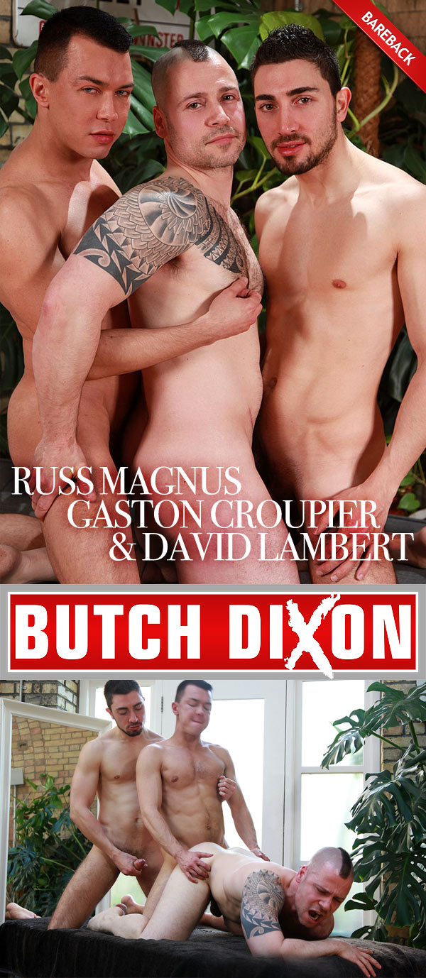 Russ Magnus, Gaston Croupier & David Lambert at Butch Dixon