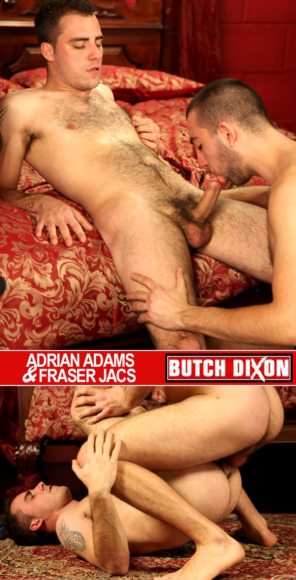 Adrian Adams & Fraser Jacs at Butch Dixon
