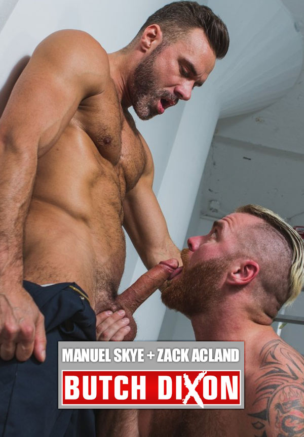 Manuel Skye Fucks Zack Acland at Butch Dixon