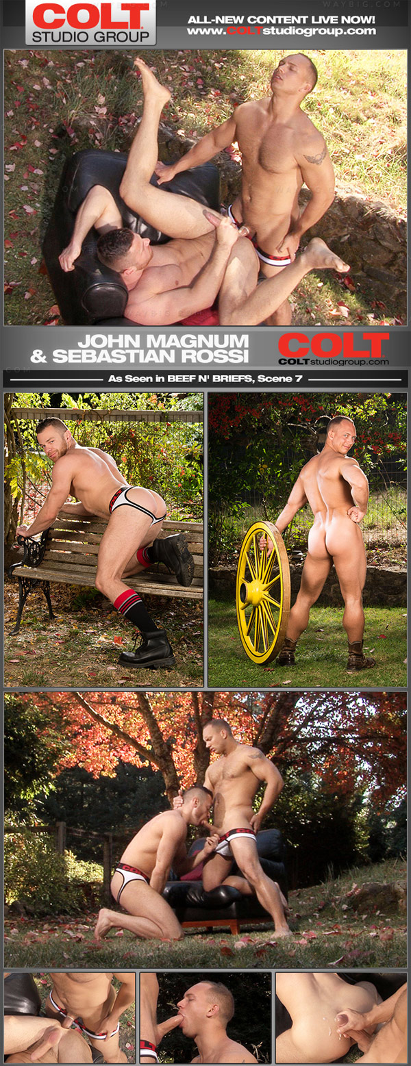 Beef n' Briefs (John Magnum, Sebastian Rossi) (Scene 7) at ColtStudioGroup.com