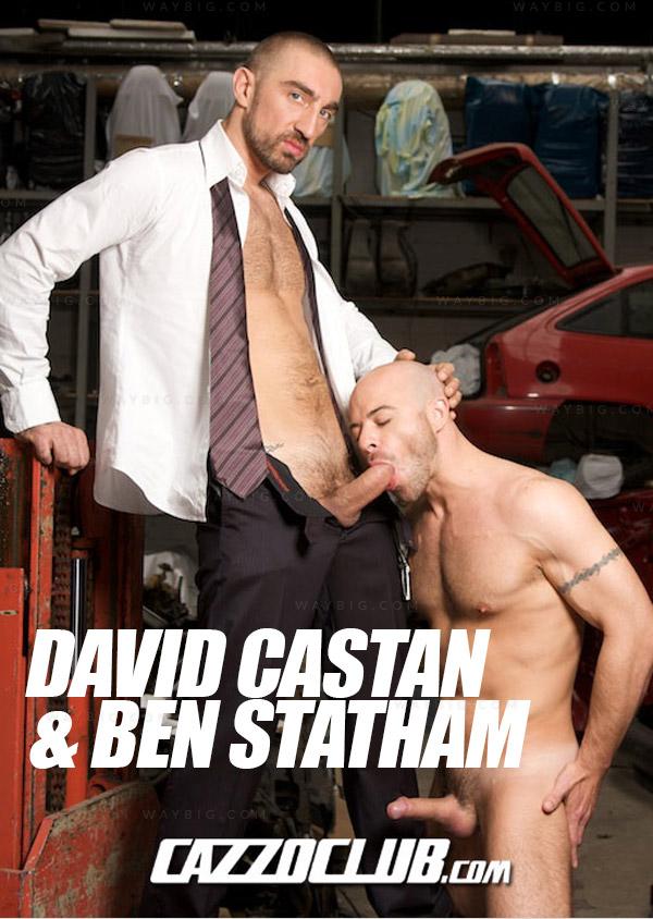David Castan & Ben Statham at Cazzo Club