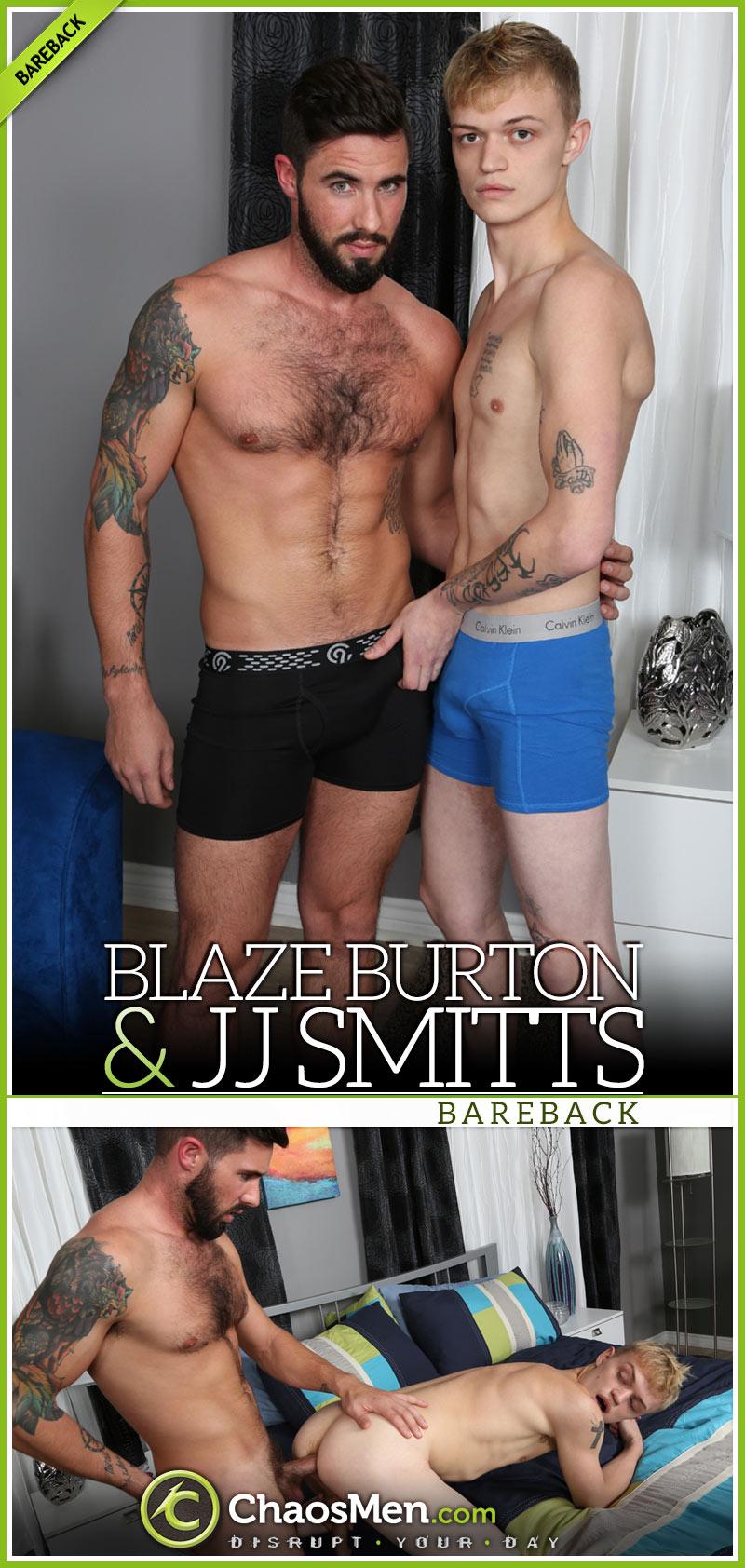 Blaze Burton Fucks JJ Smitts at ChaosMen