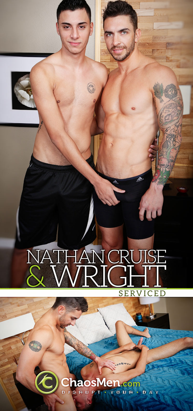 Nathan Cruise & Wright (Serviced) at ChaosMen