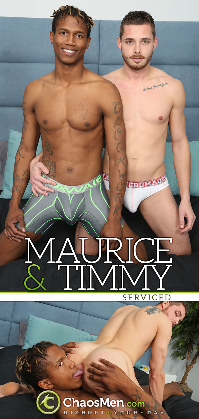 Maurice & Timmy (Serviced) at ChaosMen