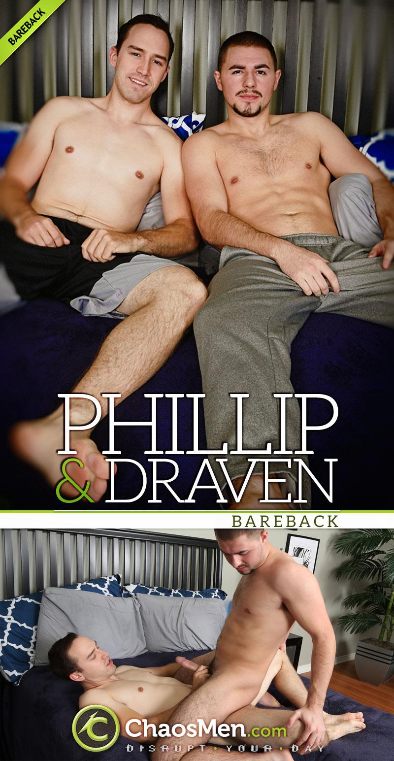 Draven Fucks Phillip (Bareback) at ChaosMen
