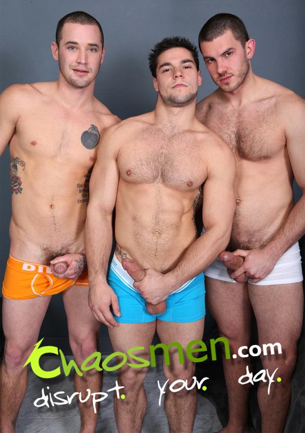 Aries, Solomon & Vander (Tag-Team Raw) (Director's Cut) at ChaosMen
