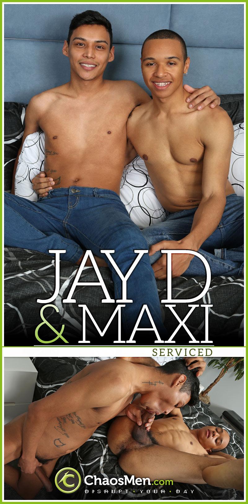 Jay D & Maxi [Serviced] at ChaosMen