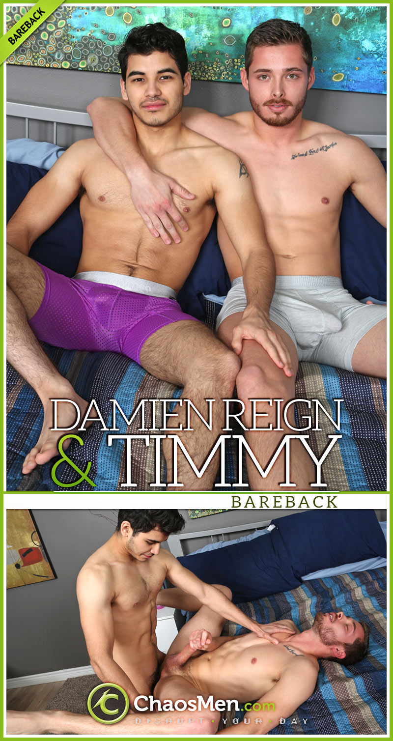 Damien Reign Fucks Timmy (Bareback) at ChaosMen