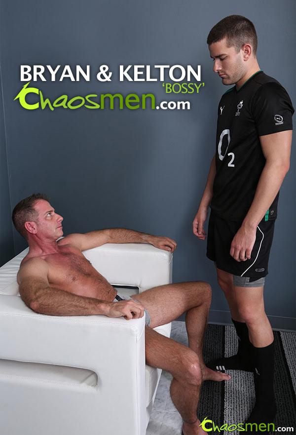 Bryan & Kelton 'Bossy' (Bareback) at ChaosMen