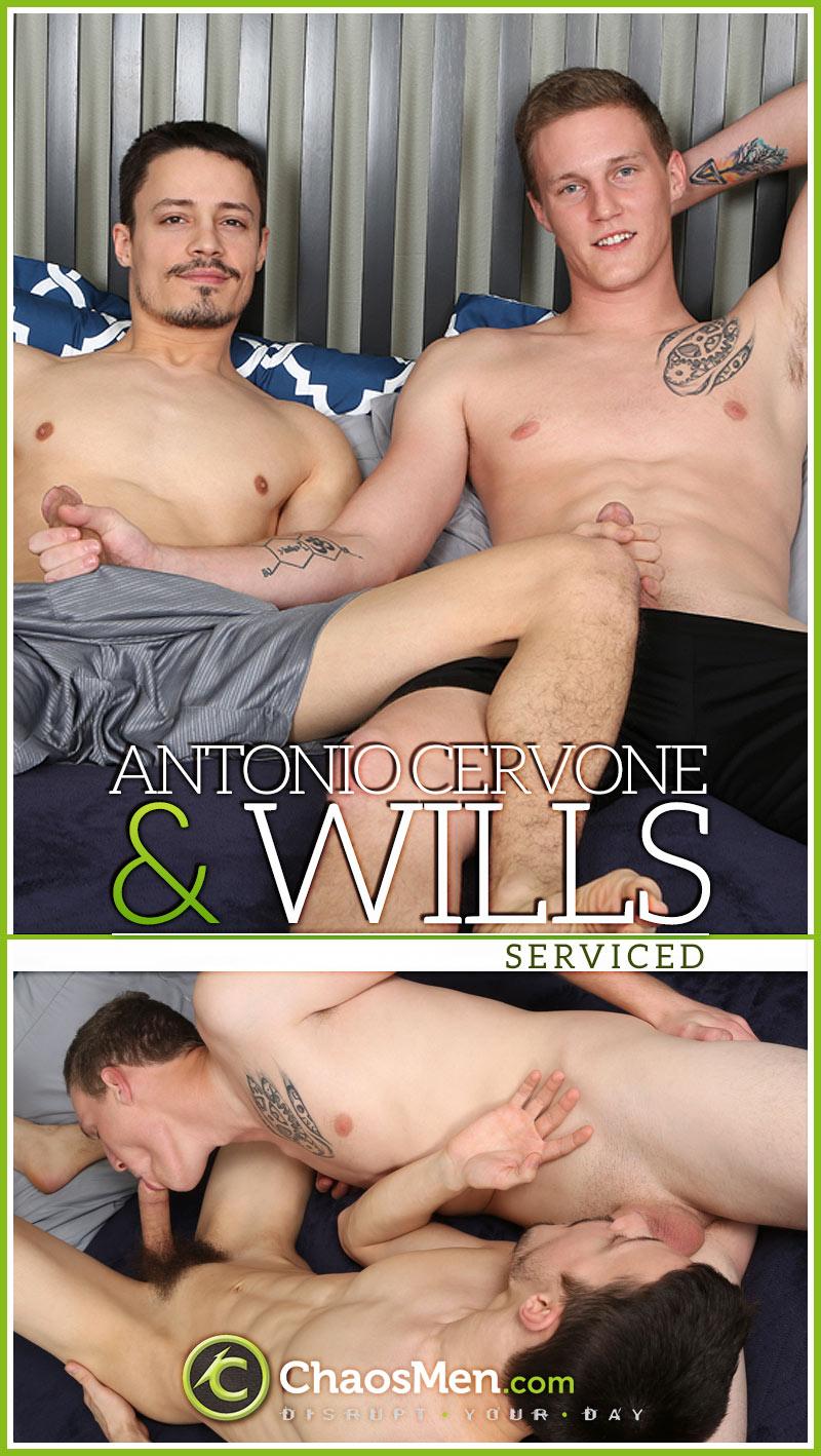 Antonio Cervone & Wills (Serviced) at ChaosMen