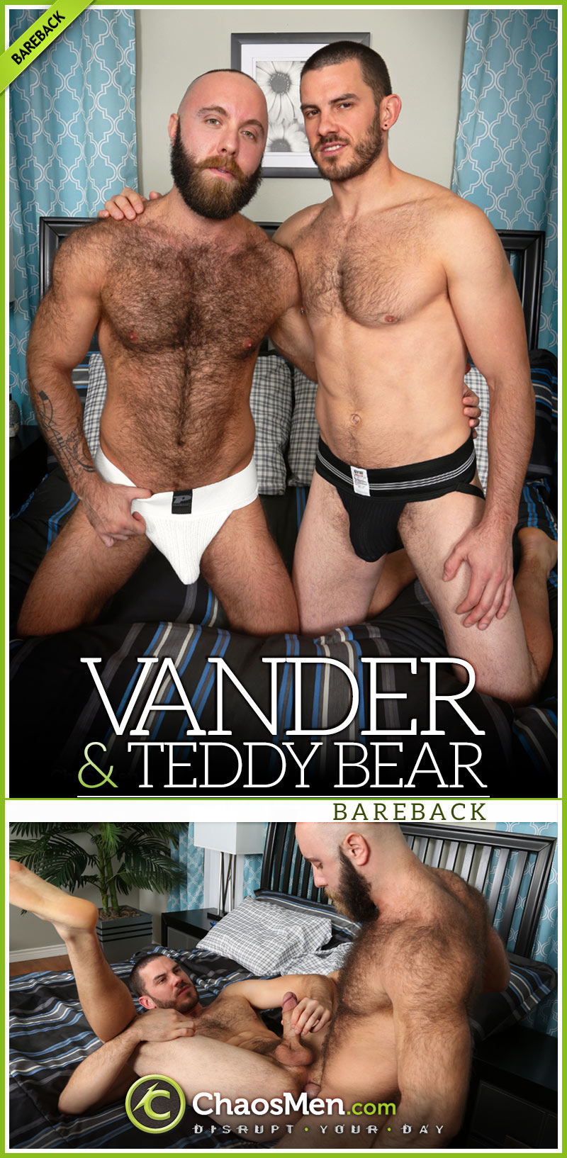 Vander Fucks Teddy Bear at ChaosMen