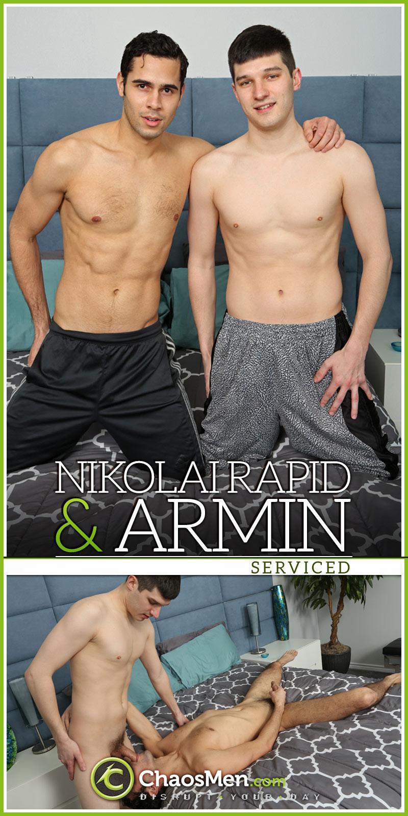 Armin & Nikolai Rapid (Serviced) at ChaosMen