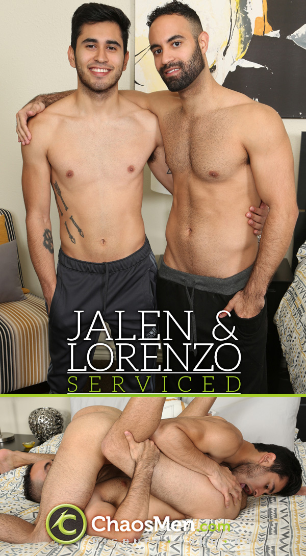 Jalen & Lorenzo (Serviced) at ChaosMen