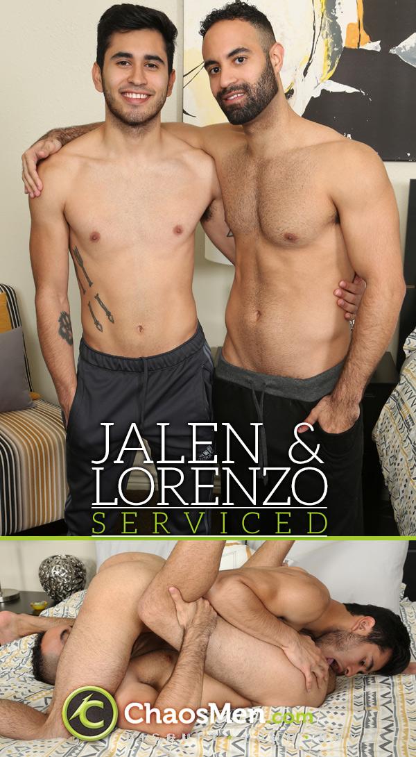 Jalen & Lorenzo (Serviced) at ChaosMen
