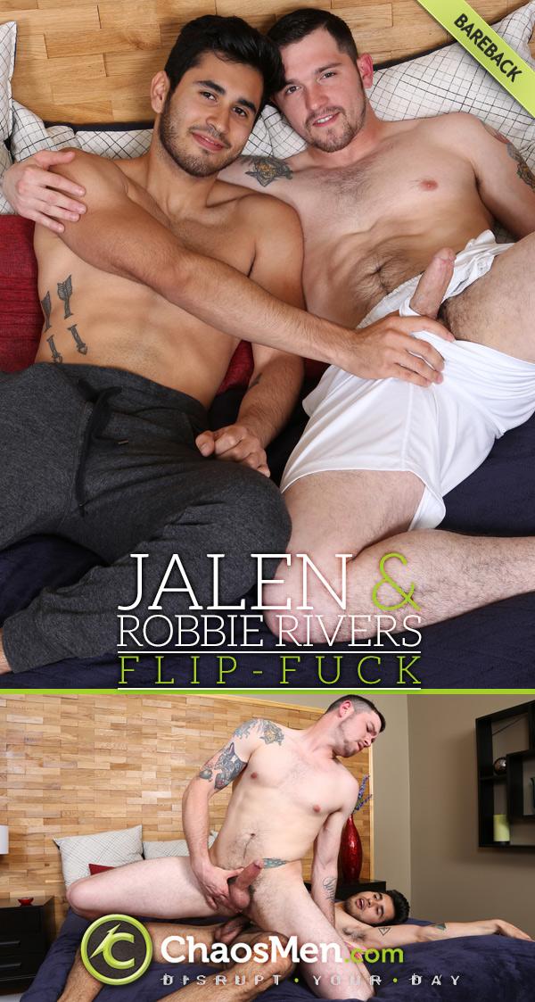 Jalen and Robbie Rivers (Bareback Flip-Fuck) at ChaosMen