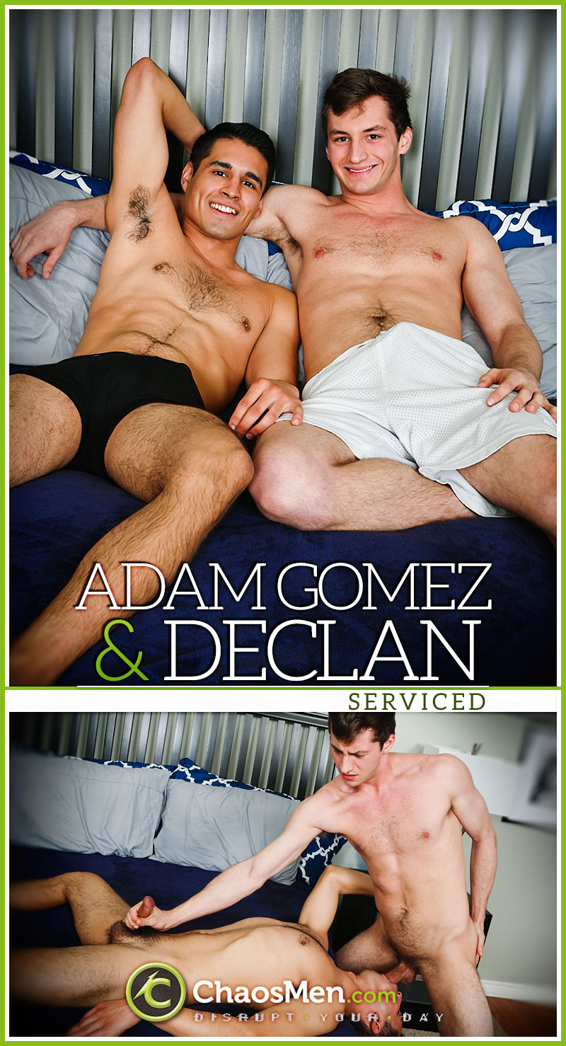 Adam Gomez & Declan (Serviced) at ChaosMen