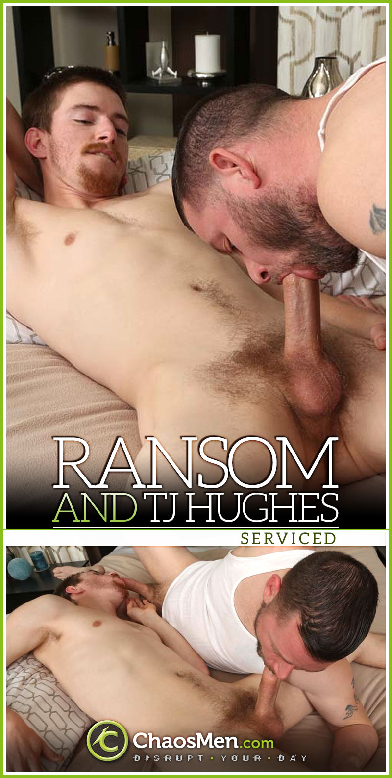 Ransom & TJ Hughes Serviced at ChaosMen