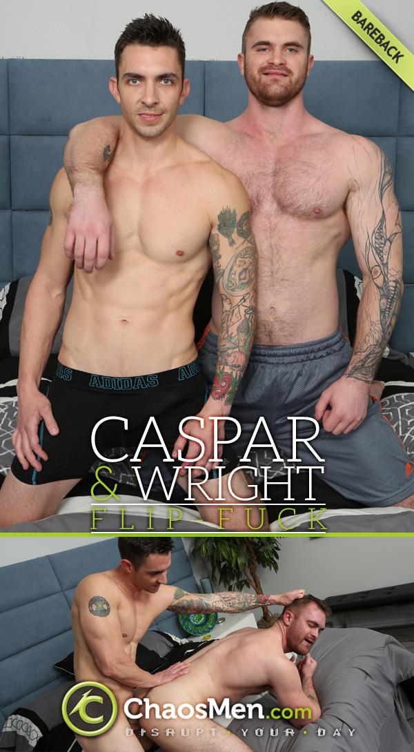 Caspar & Wright (Bareback Flip-Fuck) at ChaosMen