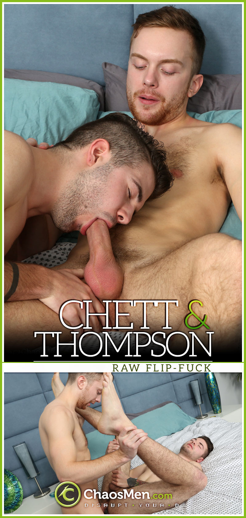 Chett and Thompson [Raw Flip-Fuck] at ChaosMen