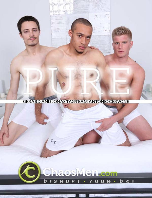 Pure (Gerard and Jonas Tag-Team Antonio Cervone) at ChaosMen
