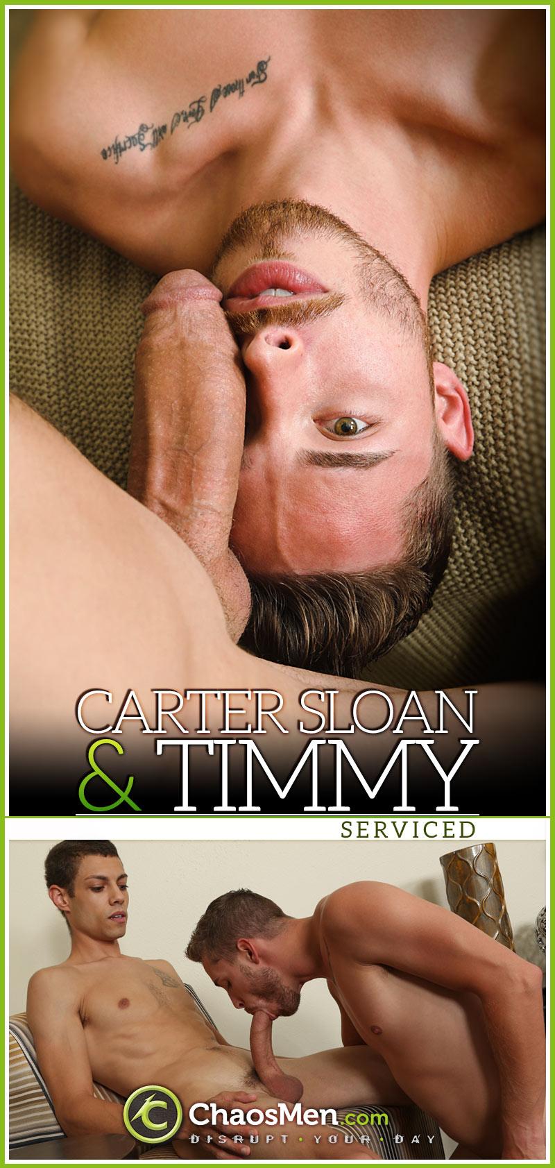 Carter Sloan & Timmy (Serviced) at ChaosMen