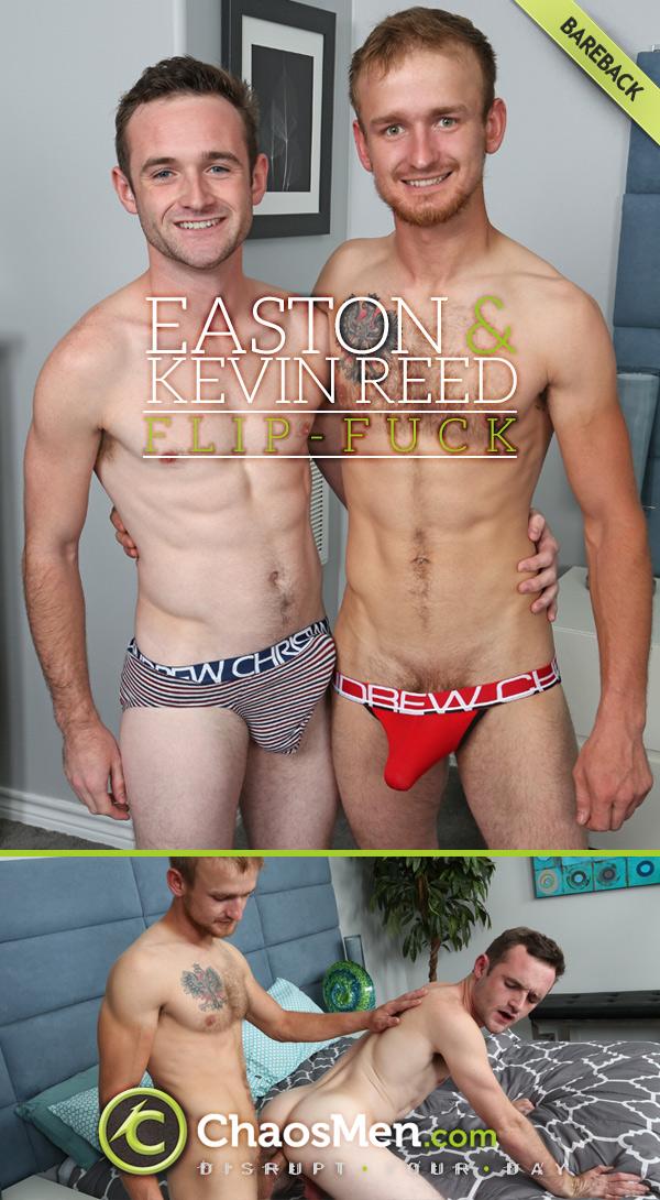 Easton & Kevin Reed (Bareback Flip-Fuck) at ChaosMen