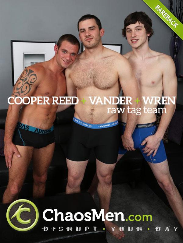Cooper Reed, Vander & Wren (Raw Tag Team) at ChaosMen