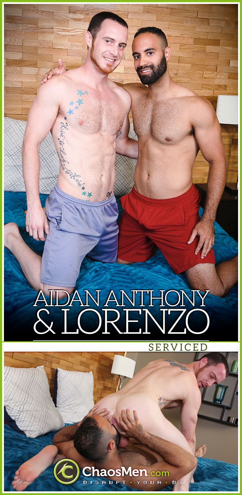 Aidan Anthony & Lorenzo (Serviced) at ChaosMen