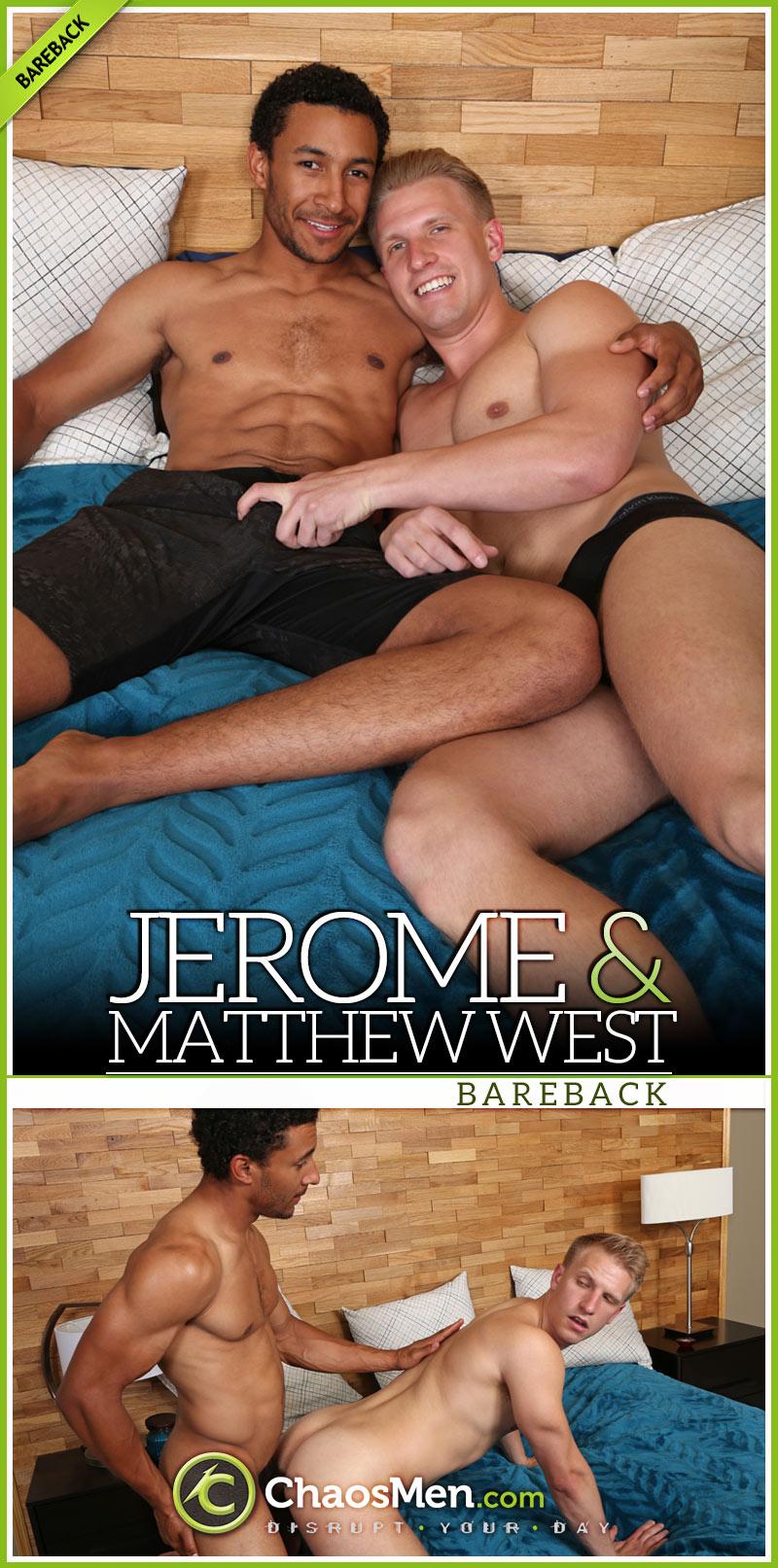 Jerome Fucks Matthew West (Bareback) at ChaosMen