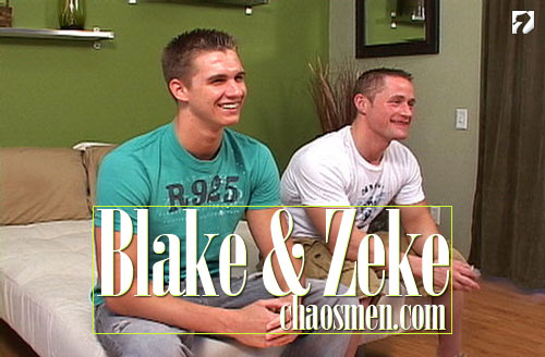 Blake & Zeke at ChaosMen