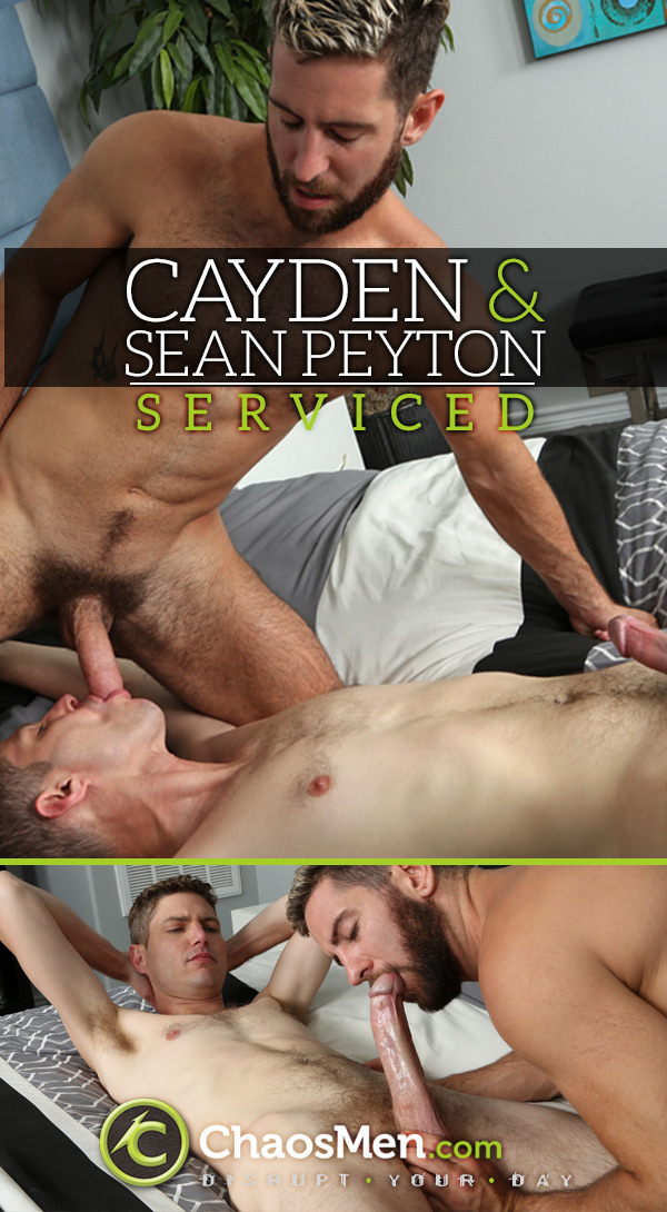 Cayden & Sean Peyton (Serviced) at ChaosMen