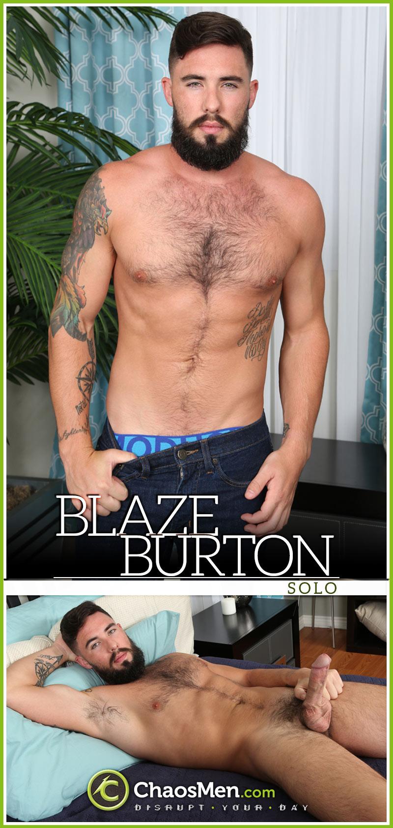 Blaze Burton at ChaosMen