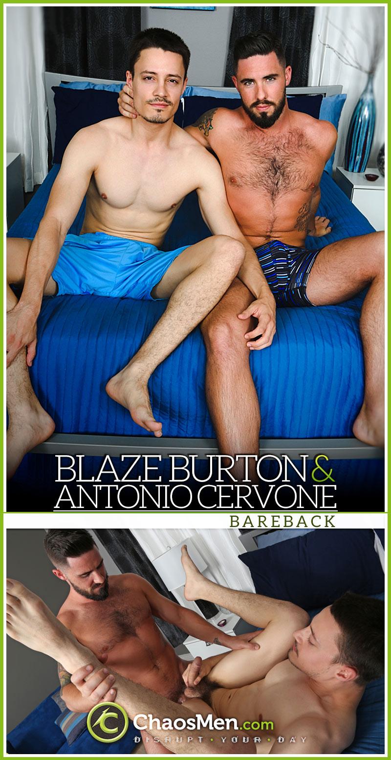 Blaze Burton Fucks Antonio Cervone RAW at ChaosMen