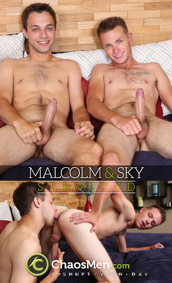 Malcolm & Sky (Serviced) at ChaosMen