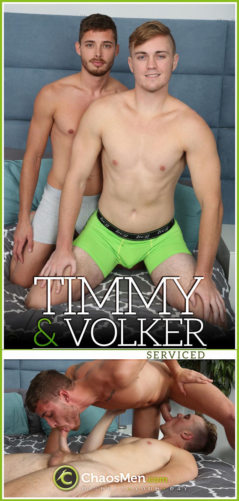 Timmy & Volker 'Serviced' at ChaosMen