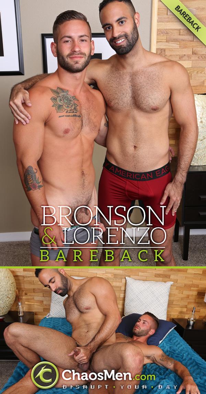 Bronson Fucks Lorenzo (Bareback) at ChaosMen