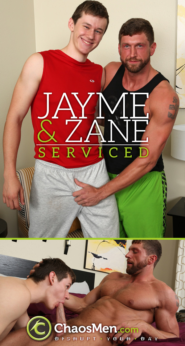 Jayme & Zane 'Serviced' at ChaosMen