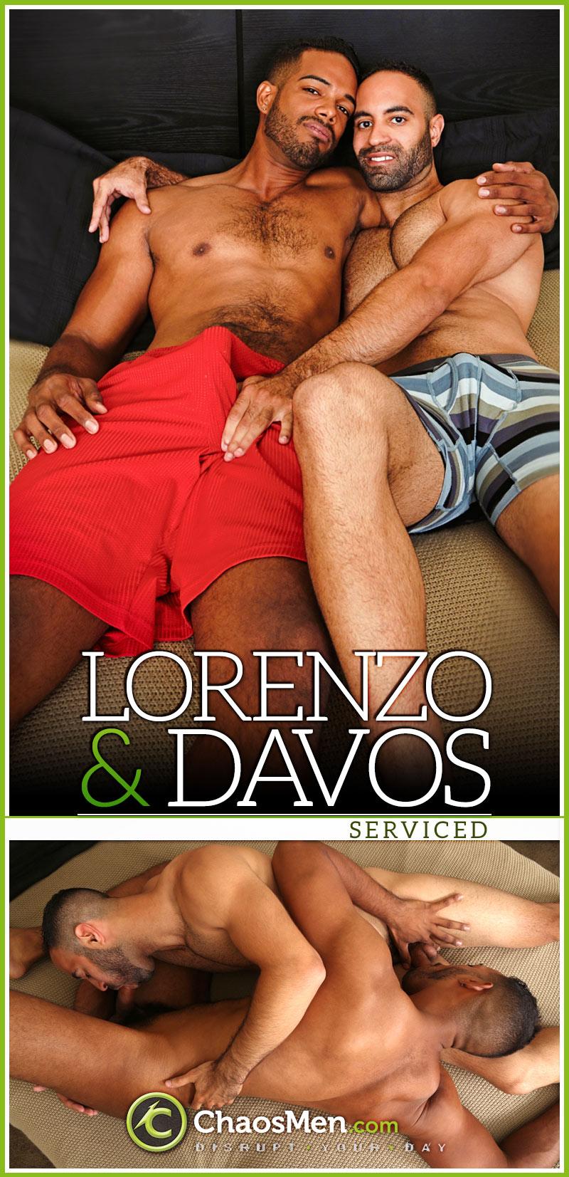 Davos & Lorenzo (Serviced) at ChaosMen