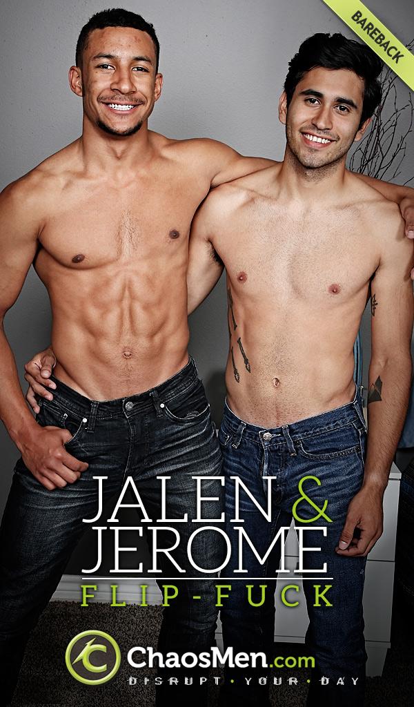 Jalen & Jerome (Bareback Flip-Fuck) at ChaosMen