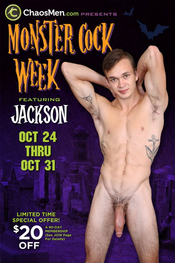 Jackson (Monster Cock Week) (Day 1) at ChaosMen