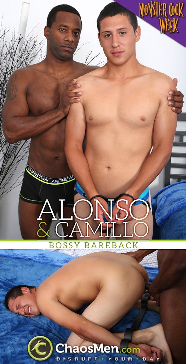 Alonso Fucks Camillo 'Bossy' (Bareback) at ChaosMen