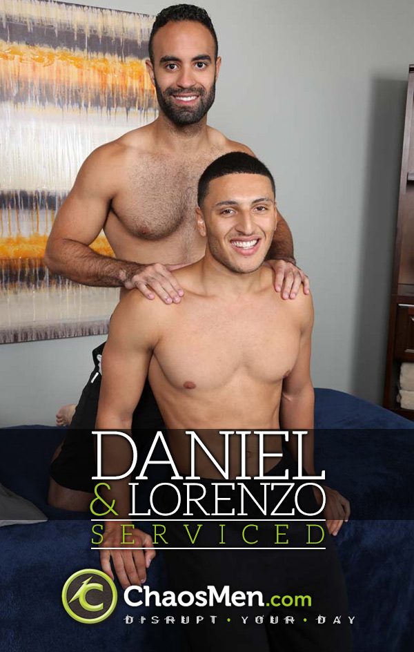 Daniel & Lorenzo (Serviced) at ChaosMen