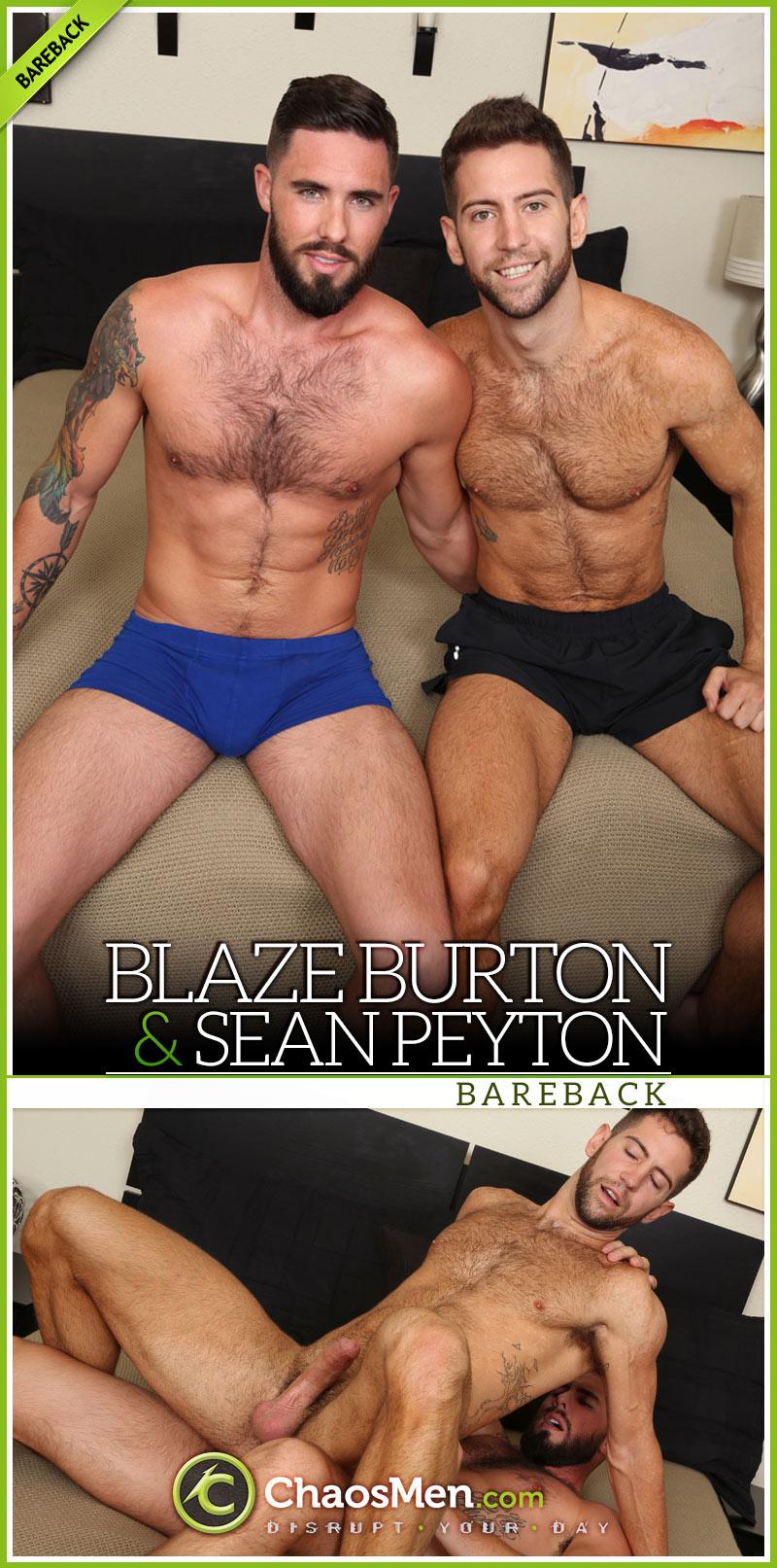 Blaze Burton Fucks Sean Peyton at ChaosMen
