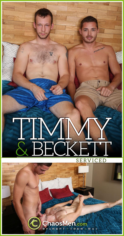 Beckett & Timmy 'Serviced' at ChaosMen
