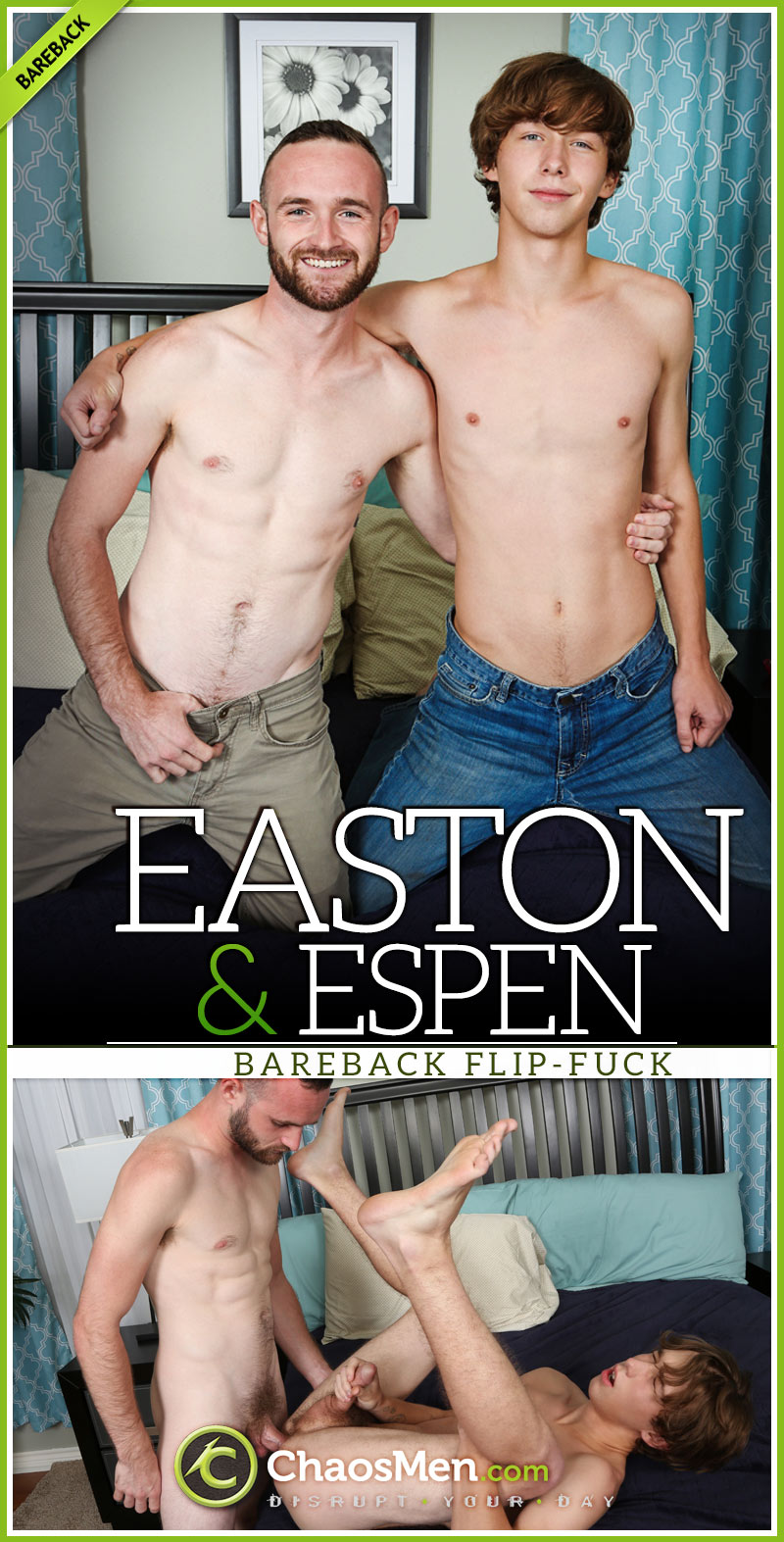 Easton and Espen Flip-Fuck at ChaosMen