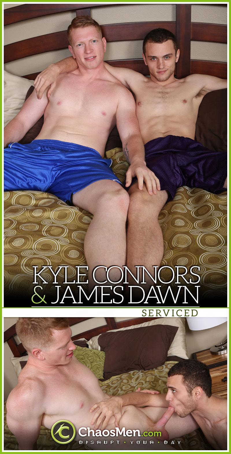 Actor Porno Connor Co chaosmen: kyle connors & james dawn 'serviced' - waybig